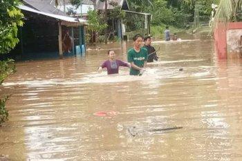 BPBD Paser evakuasi warga terdampak banjir di Kecamatan Long Ikis