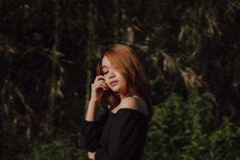 """Musisi asal Bandung Nakeisha luapkan rasa rindu dan cinta lewat lagu debut """"Biru"""""""