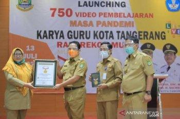 Dinas Pendidikan Kota Tangerang raih rekor MURI pembuatan video pembelajaran