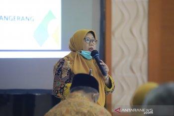 Kegiatan belajar di Kota Tangerang  masih dilaksanakan secara daring