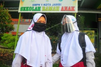 Sejumlah sekolah di Jambi mulai pembelajaran tatap muka