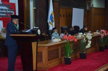 DPRD dengarkan jawaban pemerintah terkait pemandangan umum fraksi