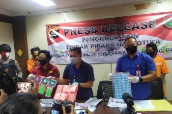 Dua pengedar narkotika dari jaringan berbeda diringkus Polda Bali