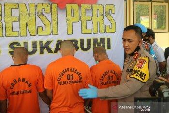"Komplotan pencuri spesialis peralatan ""BTS"" di Sukabumi diringkus polisi"