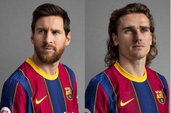 Barcelona rilis jersey terbaru