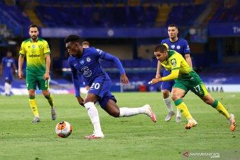 Chelsea mantapkan posisi tiga besar klasemen Liga Inggris setelah menang atas Norwich