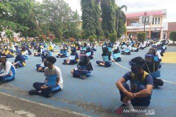 Polres Rejang Lebong sosialisasikan protokol kesehatan di sekolah