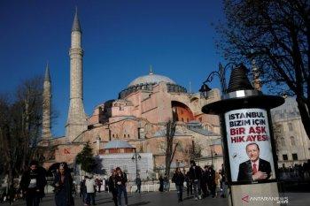 Hagia Sophia jadi masjid tunjukkan eksistensi Erdogan