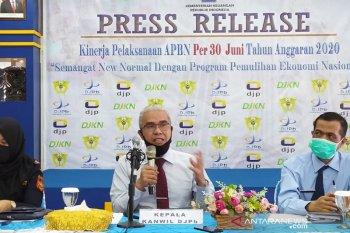 Realisasi belanja APBN di Bengkulu meningkat 40 persen