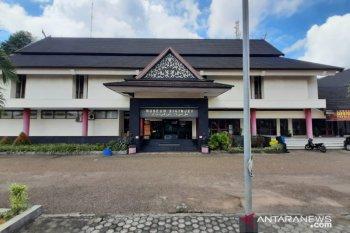 Mengunjungi museum di Jambi aman, diukur suhu tubuh dan wajib cuci tangan terlebih dahulu sebelum masuk