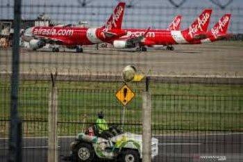 102 pesawat parkir di Bandara Soekarno-Hatta akibat pandemi