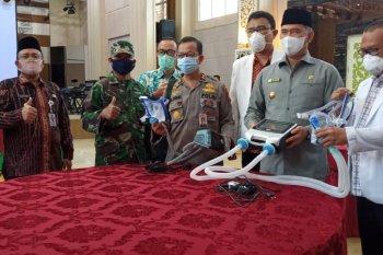 Kota Jambi terima bantuan 25 unit ventilator dari Temasek Singapura