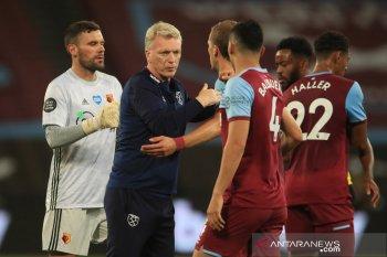 Liga Inggris: Moyes ingin West Ham bawa momentum kemenangan Piala Liga ke Emirates
