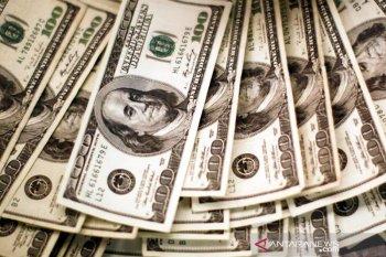 Kurs dolar AS sedikit menguat setelah sentuh terendah dua tahun