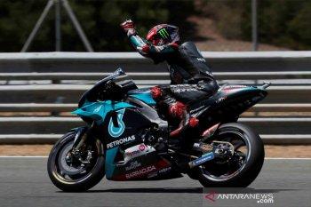 Quartararo pimpin FP1 MotoGP Catalunya, Joan Mir sempat jatuh