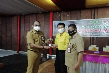 Pemkab Kutai Timur gelar pelatihan pencegahan Karhutla