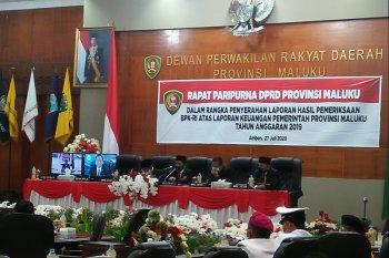 BPK berikan opini WTP atas laporan keuangan Pemprov Maluku 2019