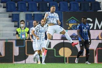 Inter amankan peringkat kedua klasemen setelah gulung Atalanta 2-0