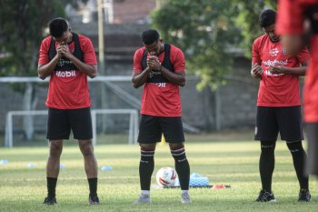 Bali United adakan latihan perdana dengan protokol kesehatan ketat