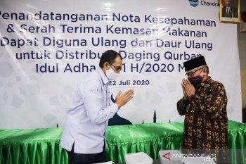 Chandra Asri donasikan wadah plastik ke MUI Banten sebagai kemasan daging kurban