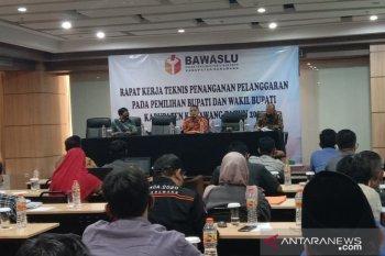Bawaslu Karawang melakukan pemetaan potensi pelanggaran Pilkada