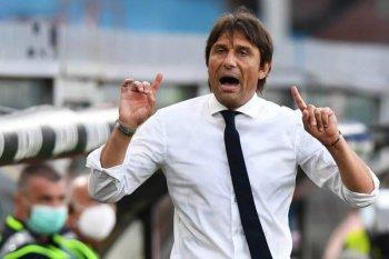 Antonio Conte mengaku puas timnya bermain sesuai dengan strategi
