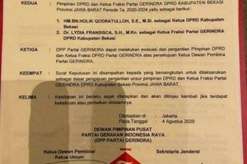 Kabar Ketua DPRD Kabupaten Bekasi diganti beredar di madsos
