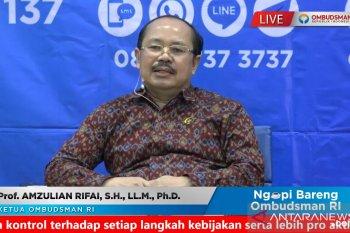 Ombudsman  terima 1.346 pengaduan bansos selama pandemi COVID-19