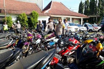 546 kendaraan ditilang selama Operasi Patuh Semeru 2020 di Kota Kediri