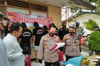 Empat pemuda keroyok petugas patroli gunakan senjata laras panjang di tangkap Polresta Tangerang