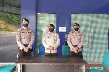Brimob polda Maluku amankan tempat isolasi pasien ODP COVID -19