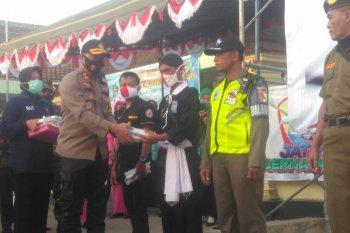 Polres Madiun ajak masyarakat disiplin pakai masker cegah COVID-19