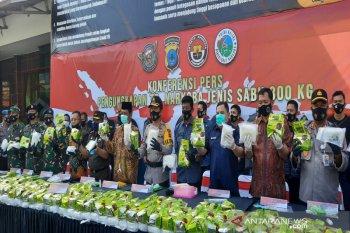 Polda Kalsel ungkap pengiriman sabu-sabu 300 kilogram, terbesar di luar Jawa