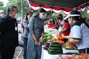 Pasar Gotong Royong Krama Bali Gianyar raih Rp100 juta sehari