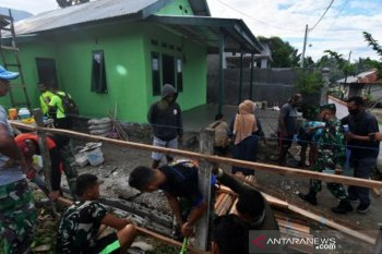 TNI rehab rumah tidak layak huni