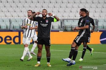 Meski kalahkan Lyon  2-1 pada leg kedua, Juventus harus tersingkr dari Liga Champions