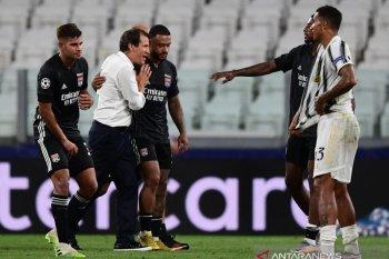 Pelatih Olympique Lyon Rudi Garcia anggap singkirkan Juve sebagai momen terbaik di kariernya