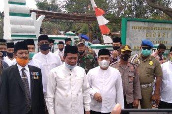 HUT Kota Serang, Walikota dan Kapolsek Cipocok Jaya ziarah di TMP