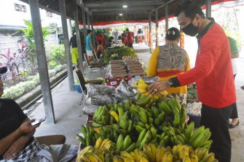 Inspektorat Bali ikut gelar Pasar Gotong Royong bantu petani/UMKM lokal