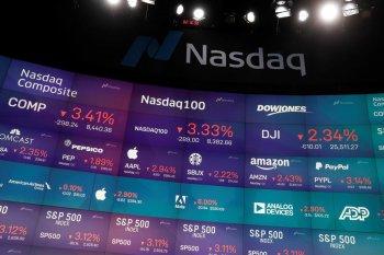 Wall Street bervariasi, Nasdaq ditutup jatuh 0,87 persen setelah melonjak sebelumnya
