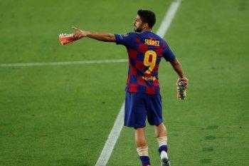 Luis Suarez ceritakan rahasia Barcelona kalahkan Napoli