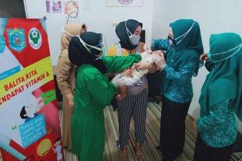 PKK Muara Komam ajak orang tua penuhi Vitamin A bagi Balita