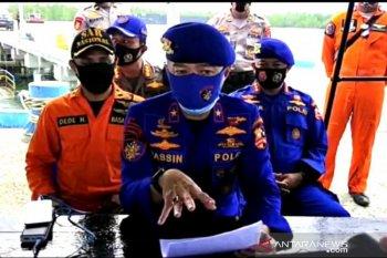 Jasad Bharatu Donni personel Polairud korban kecelakaan laut dibawa ke Pontianak