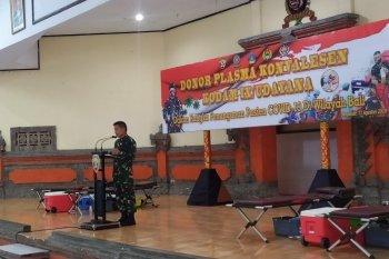 Pangdam Udayana beri penghargaan ke28 pendonor plasma konvalesen
