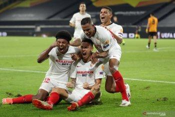 Gol semata wayang Ocampos antarkan Sevilla ke semifinal Liga Europa