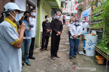 Dua kelompok urban farming di Kota Bogor dapat bantuan program CSR dari BUMN