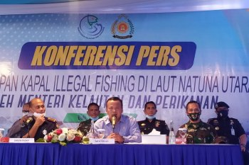 Edhy Prabowo pastikan kapal ilegal di Laut Natuna Utara akan diproses hukum (video)