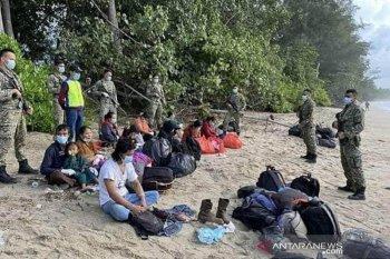 Infanteri Malaysia kembali tangkap WNI pendatang ilegal