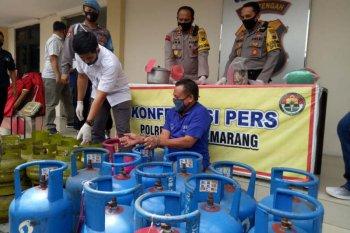 Pelaku pengoplos LPG bersubsidi di Jateng diringkus polisi