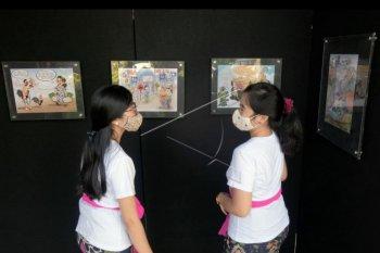Pameran Denpasar dalam kartun dan karikatur
